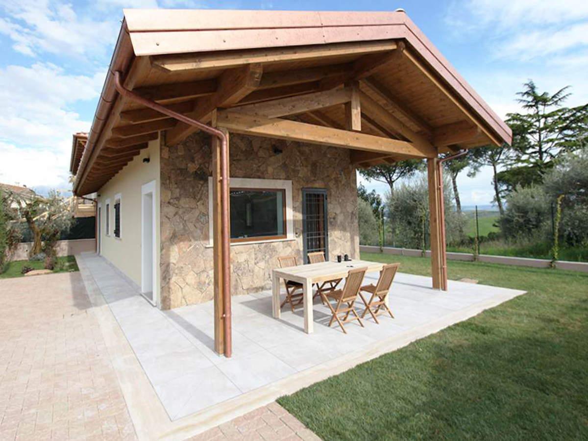 Case a schiera rm legnofab for Platea per casa in legno