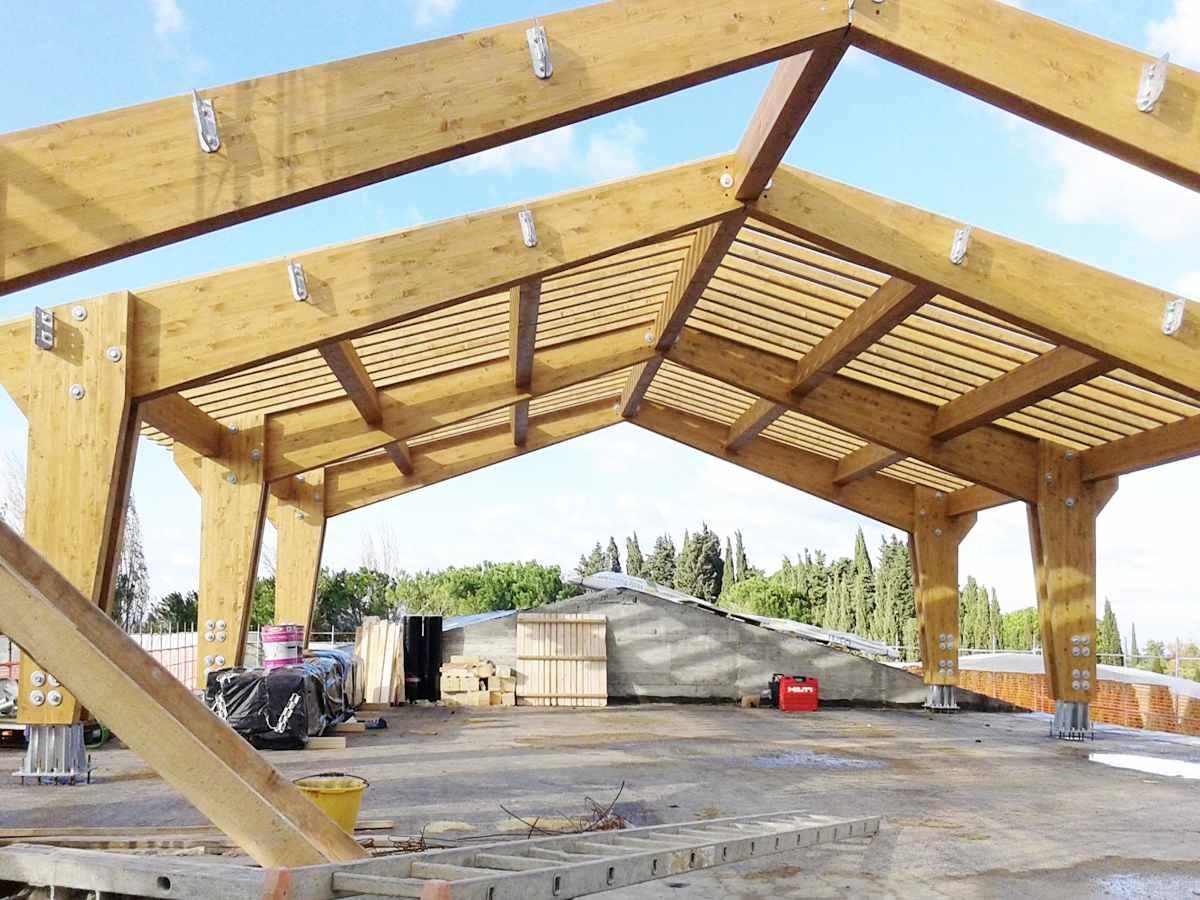 Costruzione case in legno monopiano e multipiano - realizzazioni Legnofab