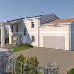 Villa in Legno in provincia di Padova con sistema costruttivo Platform-Frame e copertura con travi a vista